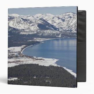 Scenic view of Lake Tahoe, USA 3 Ring Binders