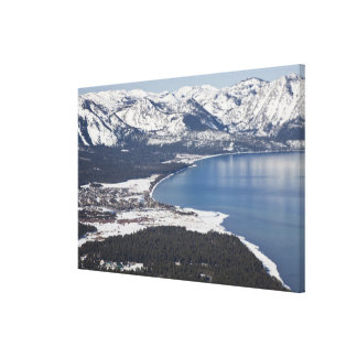 Scenic view of Lake Tahoe, USA Canvas Print