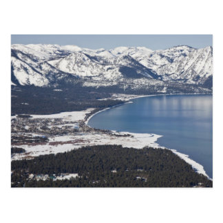Scenic view of Lake Tahoe, USA Postcard
