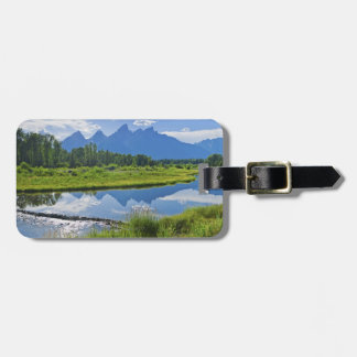 Scenic View of Mountains Bag Tag