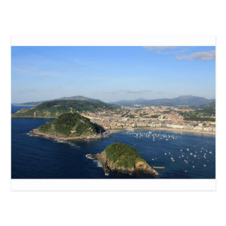 Scenic view of San Sebastian Postcard