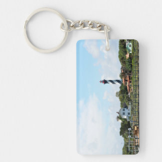 Scenic view of St. Augustine, Florida Lighthouse Keychain