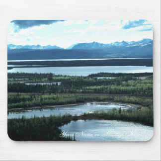 Scenic View of Tetlin National Wildlife Refuge Mouse Pad