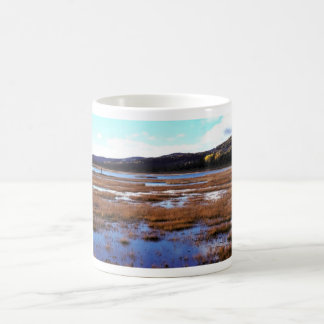 Scenic View of Tetlin National Wildlife Refuge Classic White Coffee Mug