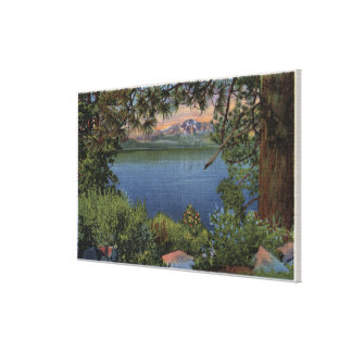 Scenic View of the Lake Canvas Print