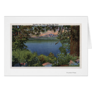 Scenic View of the Lake Card