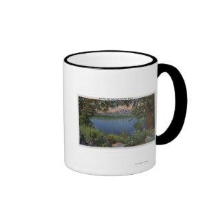Scenic View of the Lake Ringer Mug