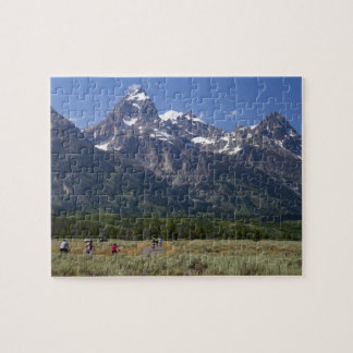 Scenic view of the Teton Range Jigsaw Puzzle