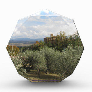 Scenic view of typical Tuscany landscape Acrylic Award