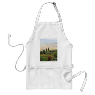 Scenic view of typical Tuscany landscape Adult Apron
