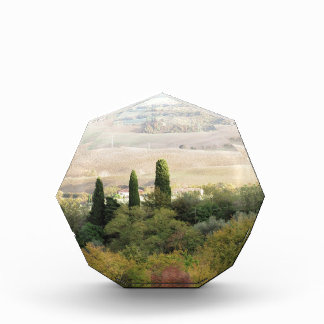 Scenic view of typical Tuscany landscape Award