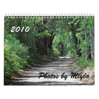 Scenic Views Calendar 2010 Photos by Miyla