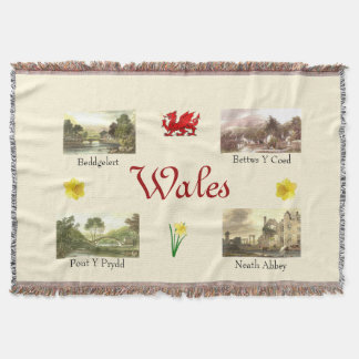 Scenic Wales Throw Blanket