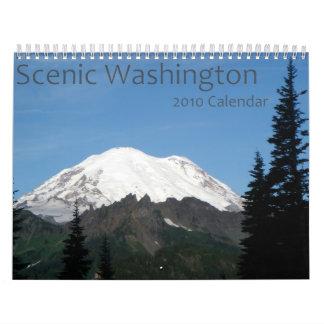 Scenic Washington 2010 Calendar