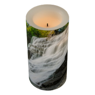 Scenic Waterfall 3x6 LED Candle
