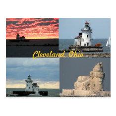 Scenic West Lighthouse (Cleveland, Ohio) Postcard at Zazzle