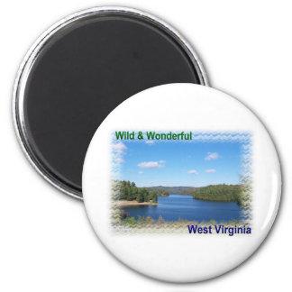 Scenic West Virginia Lake Magnet