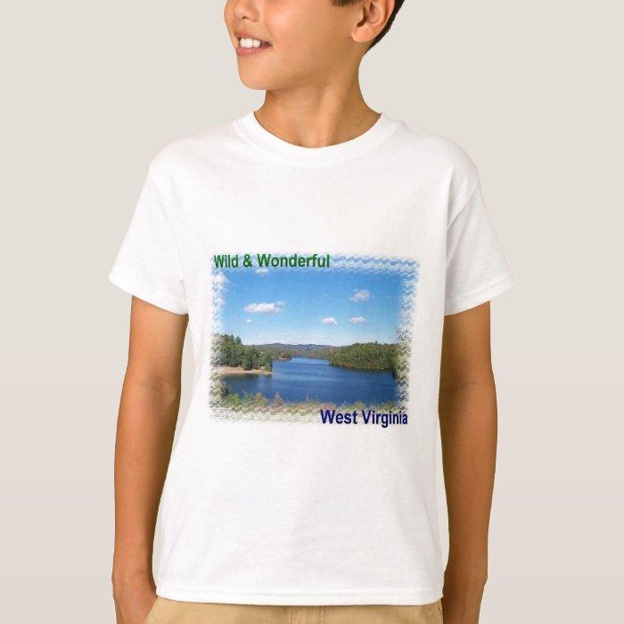 Scenic West Virginia Lake T-Shirt