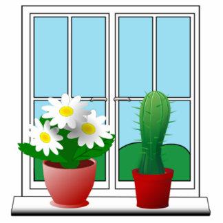 Scenic Window View Cutout