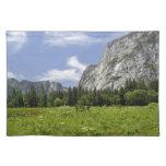 Scenic Yosemite Valley, California Placemat