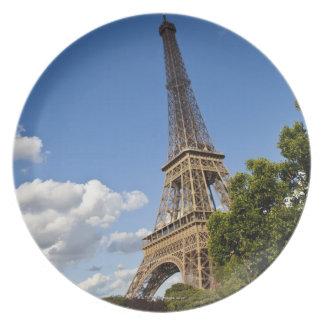 Scenics around Paris France Melamine Plate