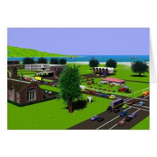 Scenics - Oceantown Card