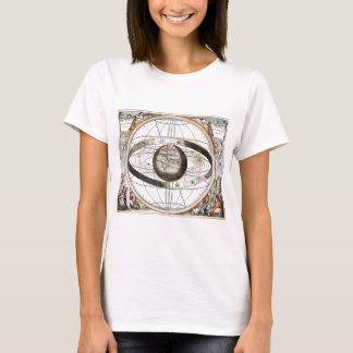 Scenography of the Ptolemaic Cosmography T-Shirt