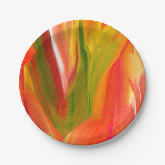 Scent of Flowers Paper Plate