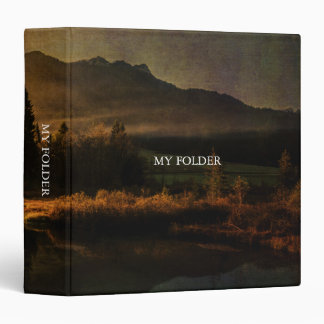 Scent of Pines 3 Ring Binder