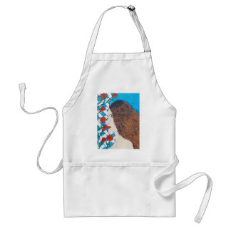 Scent of rose adult apron