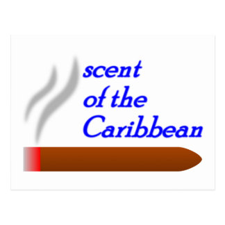 scent OF the Carribean Post Cards