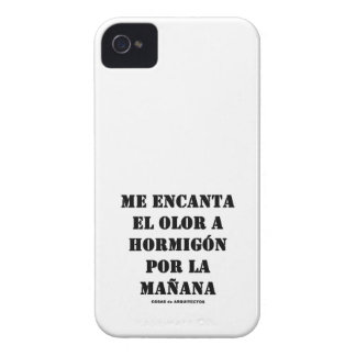 SCENT TO CONCRETE founds iphone 4 In the morning iPhone 4 Case