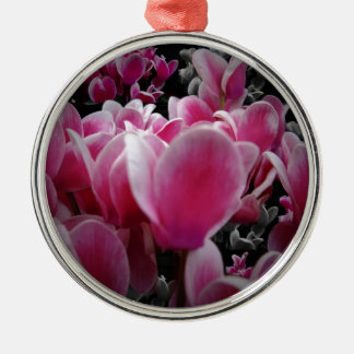 Scents For The Senses Round Metal Christmas Ornament
