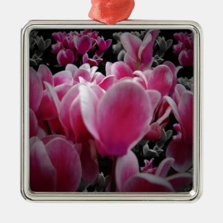Scents For The Senses Square Metal Christmas Ornament