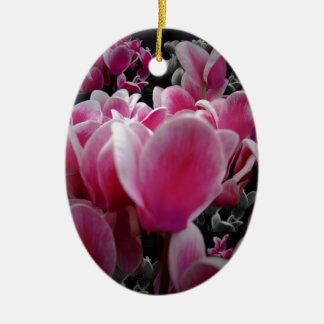 Scents For The Senses Double-Sided Oval Ceramic Christmas Ornament