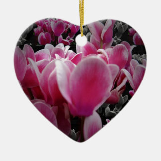 Scents For The Senses Double-Sided Heart Ceramic Christmas Ornament