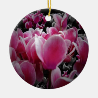 Scents For The Senses Double-Sided Ceramic Round Christmas Ornament