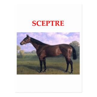 scepter tarjeta postal