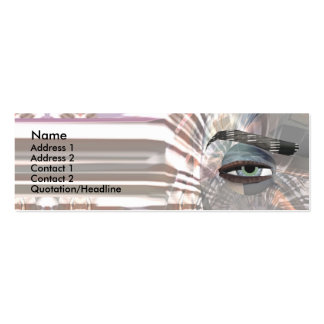 Sceye - Skinny Double-Sided Mini Business Cards (Pack Of 20)