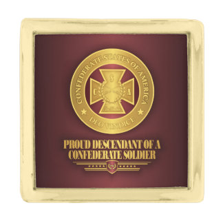 SCH -Proud Descendant Gold Finish Lapel Pin