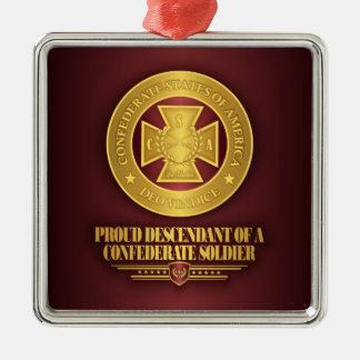 SCH -Proud Descendant Metal Ornament