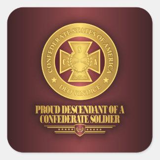 SCH -Proud Descendant Square Sticker