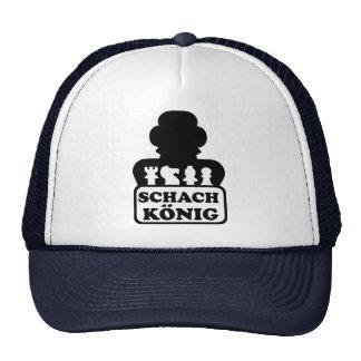 Schach König Trucker Hat