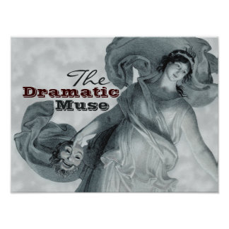 Schadow The Dramatic Muse CC0396 Poster