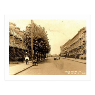 Schaeffer St., Brooklyn, New York Vintage Postcard