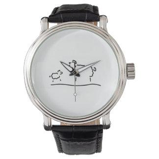 schaf lamm mutter quiere herde relojes de pulsera