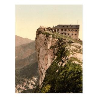 Schafberg Mountain in Salzburg Postcard