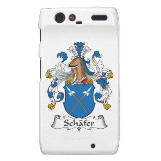 Schafer Family Crest Motorola Droid RAZR Cover