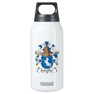 Schaffer Family Crest 10 Oz Insulated SIGG Thermos Water Bottle