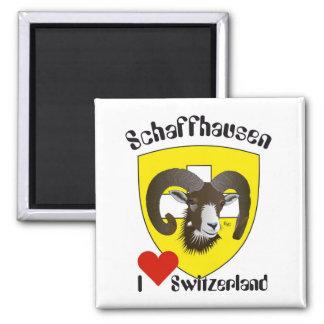 Schaffhausen Suiza Suisse Svizzera imán